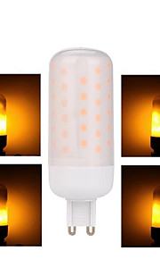 G9 3w הוביל מנורת להבה הוביל אור נורה אווירה דקורטיבית אפקט אש מנורה ac85--265v