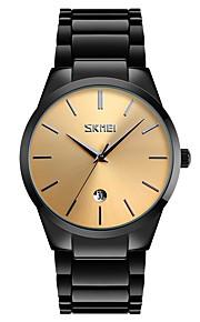 Homens Crianças Relógio Casual Relógio Esportivo Relógio de Moda Chinês Quartzo Calendário Impermeável Mostrador Grande Lega Banda Luxo
