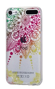 Case For Apple Ipod Touch5 / 6 Case Cover High Penetrating Powder IMD Mandala Soft TPU Phone Case