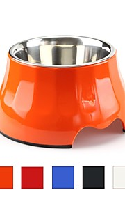 Cat Dog Outfits Feeders Pet Bowls & Feeding Ergonomic Design Case Included Durable Blue Red Orange Black White