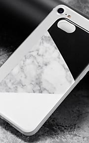 Kılıf Na Apple iPhone 8 iPhone 8 Plus Etui iPhone 5 iPhone 6 iPhone 7 IMD Czarne etui Marmur Miękkie TPU na iPhone 8 Plus iPhone 8 iPhone