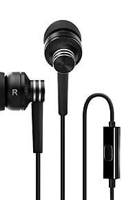 EDIFIER H270P 귀에 유선 헤드폰 동적 메탈 모바일폰 이어폰 하이파이 마이크 포함 헤드폰