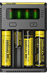 NEW-I4 Batterioplader Lygter Tilbehør Bærbar Professionel Høj kvalitet Plastik for