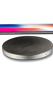 شاحن لاسلكي الهاتف شاحن أوسب عالمي شاحن لاسلكي Qi شحن سريع مخرجUSB 1 2.1A iPhone X iPhone 8 Plus iPhone 8 S8 Plus S8 S7 Active S7 edge S7