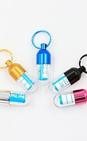 Kæledyr Udsmykninger Mini Ensfarvet Letvægts Aluminium Guld Sølv Blå Lys pink Sort