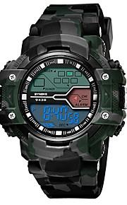 Homens Relógio Esportivo Japanês Quartzo Relógio Casual PU Banda Casual Preta Azul Cinza