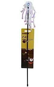 Kattelegetøj Kæledyrslegetøj Teasers Glansigt Kæledyrsvenlig Jumping Mousserende Decompression Toys Papir For kæledyr