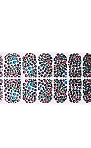 1 Naklejka paznokci 3D Kalkomanie do paznokci Nail Art Design