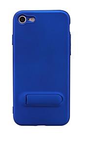 hoesje Voor Apple iPhone 7 met standaard Achterkant Effen Kleur Zacht TPU voor iPhone 7 iPhone 5