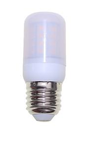 SENCART 1pc 3W 300 lm E14 G9 GU10 E26/E27 B22 LED-kornpærer T 40 leds SMD 5730 Dekorativ Varm hvit Kjølig hvit 85-265V