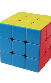 Rubiks kube 1 stk Shengshou D0889 Rainbow Cube 3*3*3none Glatt Hastighetskube Magiske kuber Kubisk Puslespill Barn Mote Kube Gave Alle