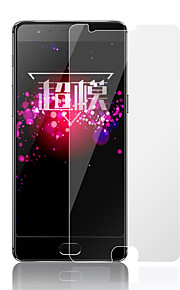 Protector de pantalla OnePlus para One Plus 3T Vidrio Templado 1 pieza Protector de Pantalla Frontal Anti-Arañazos Alta definición (HD)