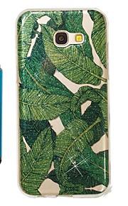 Capinha Para Samsung Galaxy A5(2017) A3(2017) IMD Estampada Glitter Brilhante Capa traseira Árvore Macia TPU para A3 (2017) A5 (2017)