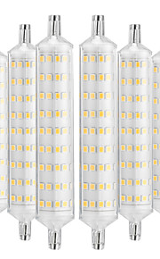 YWXLIGHT® 6pcs 12W 1000-1200 lm R7S LED Corn Lights 108 leds SMD 2835 Decorative Warm White AC 220-240V