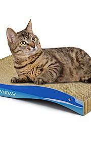 חתול צעצוע לחתול צעצועים לחיות מחמד אומנות גירוד נייר ויצירה בנייר הדפסות אומנות צבעוני משטח גירוד מסייע בהפחתת  משקל נפית החתולים נייר