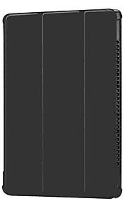 Funda Para Huawei MediaPad MediaPad M5 10 con Soporte Funda de Cuerpo Entero Un Color Dura Cuero de PU para MediaPad M5 10