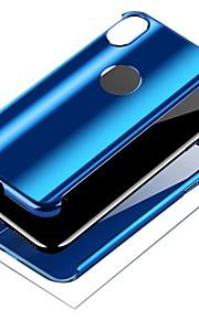 Kılıf Na Jabłko iPhone X / iPhone 8 Powłoka / Uchwyt pierścieniowy Pełne etui Solidne kolory Twardość PC na iPhone X / iPhone 8 Plus / iPhone 8