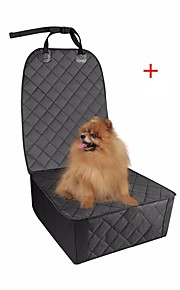 Dogs Cats Pets Carrier & Travel Backpack Car Seat Cover Pet Carrier Multi layer Waterproof Foldable Folding Durable Travel Solid Colored