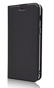 ケース 用途 Samsung Galaxy A7(2018) A5(2018) カードホルダー スタンド付き フリップ フルボディーケース ソリッド ハード PUレザー のために A5(2018) A7(2018)