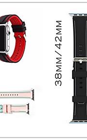 Urrem for Apple Watch Series 3 / 2 / 1 Apple Klassisk spænde Silikone Håndledsrem