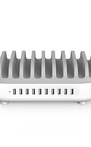 NTONPOWER Biuro / Dom / Biuro / Do smartfona Talerze dekoracyjne 10 porty USB for 5V
