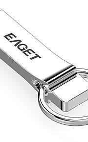 EAGET 16GB minnepenn USB-disk USB 2.0 Metallskall Lokkløs U9H