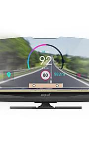 ZIQIAO Universal Mobile GPS Navigation Bracket HUD Head Up Display For Smart Phone Car Mount Stand Phone Holder