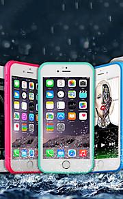 Kılıf Na Jabłko iPhone X / iPhone 8 Plus Wodoodporny / Odporny na wstrząsy Pełne etui Solidne kolory Miękka TPU na iPhone X / iPhone 8 Plus / iPhone 8