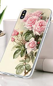 Kılıf Na Jabłko iPhone XR Odporne na kurz / Ultra cienkie / Wzór Osłona tylna Kwiat Miękka TPU na iPhone XR