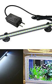 Halak Akváriumok LED fény Fehér Tartós LED lámpa V Műanyag