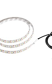 ZDM® 1m Tiras LED Flexibles 60 LED 2835 SMD Blanco Cálido / Blanco Fresco Impermeable / USB / Adecuadas para Vehículos 5 V / Alimentado por USB 1pc