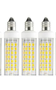 5 szt. 6 W 630-750 lm E11 Żarówki LED kukurydza T 88 Koraliki LED SMD 2835 Ciepła biel / Zimna biel 85-265 V