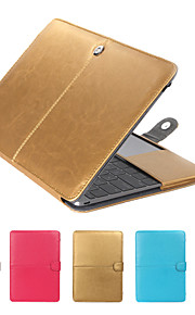 """MacBook Case Solid Colored PU Leather for Macbook Pro 13-inch / New MacBook Pro 13-inch / New MacBook Air 13"""" 2018"""