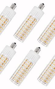 6pcs 7.5 W 937 lm E11 Bombillas LED de Mazorca T 100 Cuentas LED SMD 2835 Blanco Cálido / Blanco Fresco 85-265 V