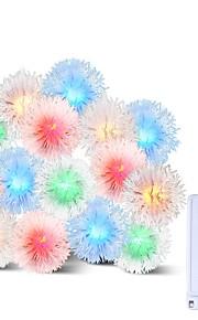 BRELONG® 10m Cuerdas de Luces 100 LED RGB Impermeable / Creativo / Fiesta 220-240 V