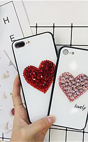 tok Για Apple iPhone XR / iPhone XS Max Στρας Πίσω Κάλυμμα Καρδιά Σκληρή TPU για iPhone XS / iPhone XR / iPhone XS Max