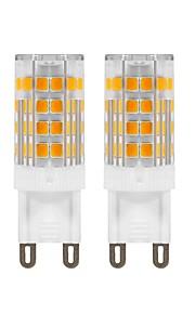 5 W LED Φώτα με 2 pin 420 lm G9 T 52 LED χάντρες SMD 2835 Διακοσμητικό Θερμό Λευκό 220 V 110 V, 2pcs