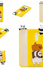 tok Για Xiaomi Xiaomi Pocophone F1 / Xiaomi Redmi Note 7 Με σχέδια Πίσω Κάλυμμα Ζώο / Κινούμενα σχέδια Μαλακή TPU για Xiaomi Redmi Note 5 Pro / Xiaomi Redmi Note 6 / Xiaomi Pocophone F1