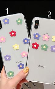 tok Για Apple iPhone XR / iPhone XS Max Με σχέδια Πίσω Κάλυμμα Λουλούδι Μαλακή TPU για iPhone XS / iPhone XR / iPhone XS Max