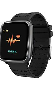 Indear K02 Έξυπνο ρολόι Android iOS Bluetooth Smart Αθλητικά Αδιάβροχη Συσκευή Παρακολούθησης Καρδιακού Παλμού Μέτρησης Πίεσης Αίματος ΗΚΓ + PPG