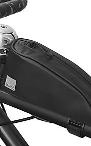 0.3 L Бардачок на раму Водонепроницаемость Пригодно для носки Прочный Велосумка/бардачок 600D полиэстер Водонепроницаемый материал Велосумка/бардачок Велосумка Велосипедный спорт Велоспорт