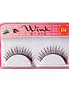 Natural Looking Eyelashes #04# - 1 Pair Per Box