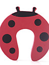 Red Ladybug Style Door Stopper Children Safety Tool