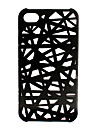 Unique Mesh Protective Case for iPhone 4(Black)