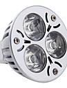 3W 260-300lm GU5.3(MR16) Точечное LED освещение MR16 3 Светодиодные бусины Высокомощный LED Естественный белый 12V