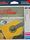 alice - (AC130-n) normales cordes de guitare classique tension (028 à 043)