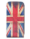 старинный флаг Великобритании картина полного случае тело для iphone 4 и 4S (многоцветные)