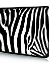 "Zebra Stripe Neoprene Laptop Sleeve Case for 10"" 11"" 13"" 15"" iPad MacBook Dell HP Acer Samsung"