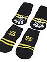 Dog Socks Casual/Daily Keep Warm Stripe For Pets