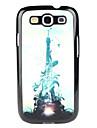 Para Samsung Galaxy Capinhas Estampada Capinha Capa Traseira Capinha Torre Eiffel PC Samsung S3